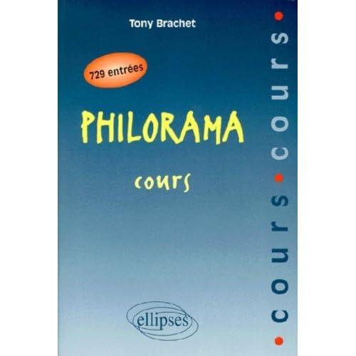 Philorama: Cours by Tony Brachet (1998-05-05)