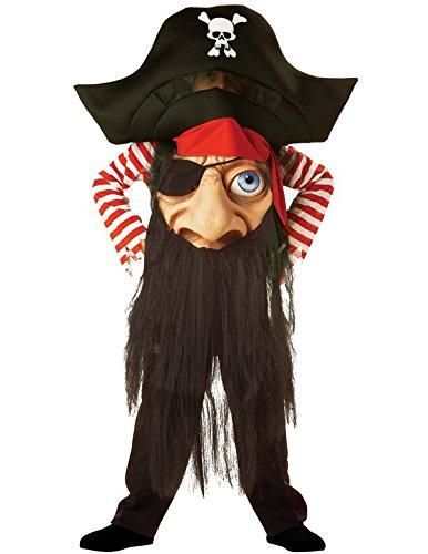 Pirate Verrückter Hutmacher (Medium) Kinder Kostüm / Kostüm