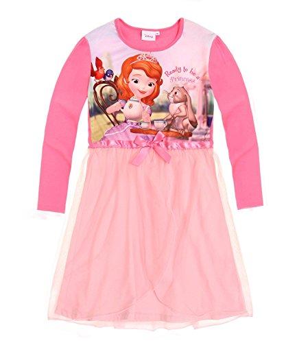 Disney Sofia die Erste Mädchen Nachthemd - rosa - 104 (Sofia Die Erste Kleider)