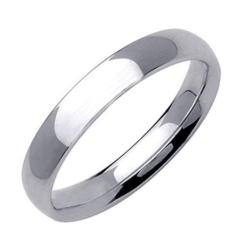 Gemini Damen-Ring Titan , Herren-Ring Titan , Freundschaftsringe , Hochzeitsringe , Eheringe, poliert , Breite 6mm Größe 59 (18.8)