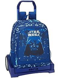 Safta Star Wars 2018 Mochila infantil, 43 cm, Azul