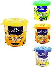 My Shaldan Car Air Freshener Combo Pack (Lemon, Lime, Orange, Squash)