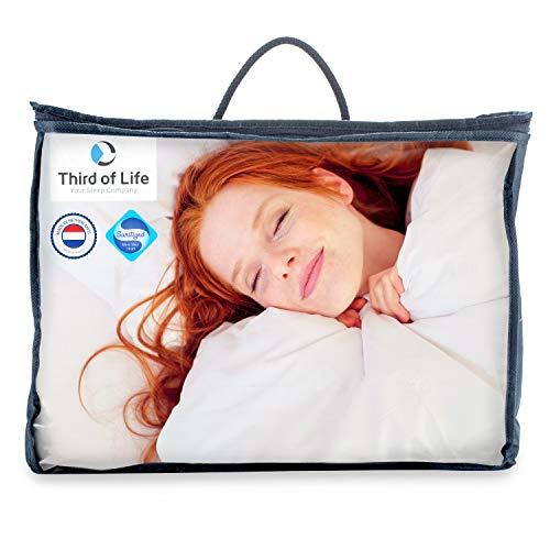 Bettdecke 135 200 BLANCO | Flauschige Schlaf-Decke mit Feuchtigkeitsmanagement & hoher Atmungsaktivität | Optimale Hygiene für Allergiker | Perfekte 4-Jahreszeiten Bettdecke | Ganzjahresdecke 135x200