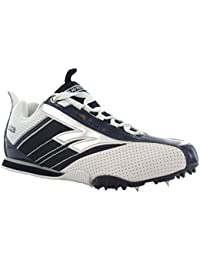 De Tec de Unisex Running para Maletero Gym Atletismo Track Trainer Suave Acolchado EVA Zapatos, Weiß