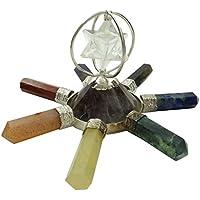Harmonize Quarz Merkaba Sieben Chakra Energie-Generator Spinnen Reik Spirituelle Heilung Edelsteine preisvergleich bei billige-tabletten.eu