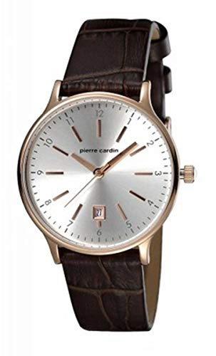 Pierre Cardin PC106042S02 Orologio da Polso, Donna, Cronografo, Argento/Argento/Nero