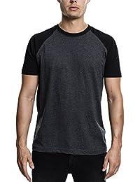 Urban Classics Herren T-Shirt Raglan Contrast Tee