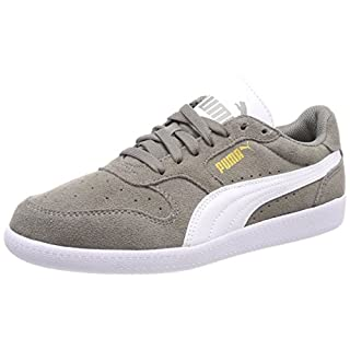 Puma Unisex-Erwachsene Icra Trainer SD Sneakers, Grau (Steel Gray-Puma White), 43 EU
