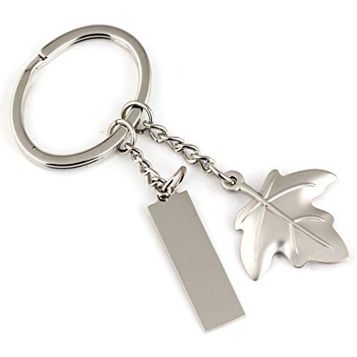 Maycom, Schlüsselanhänger und Schlüsselring aus Silber,