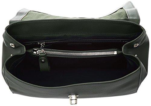 Lacoste Damen Daily Classic Umhängetaschen, 14.5x22x29.5 cm Marron (Rosin)