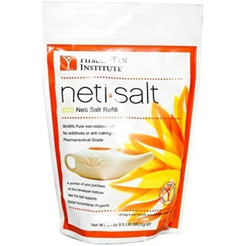 Himalayan Institute Neti Pot Salt Bag - 1.5 lbs by Himalayan Institute