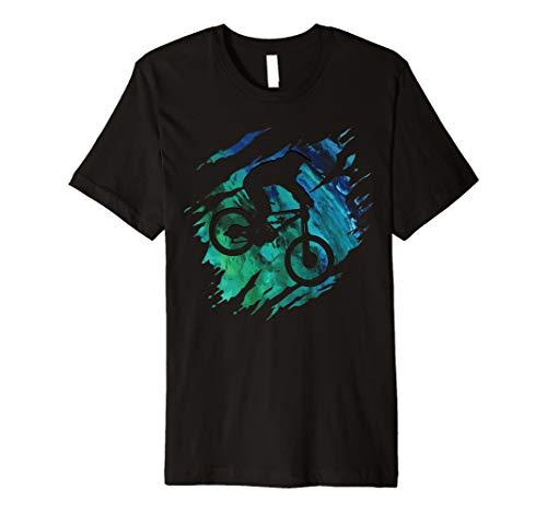 Downhill Shirt - Mountainbike MTB T-Shirt Geschenk