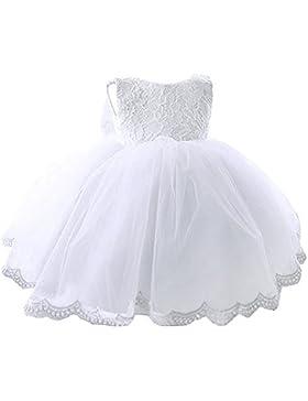 Kleinkinder Baby Mädchen Kleid IHRKleid® Blumenspitze Prinzessin Kleid Hochzeit Partykleid Taufkleid Tüll Festzug