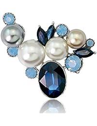 325118e52ad7 Gysad Broches Perla de imitacion Broches para ropa mujer Exquisito y encantador  Broches de bisuteria baratos