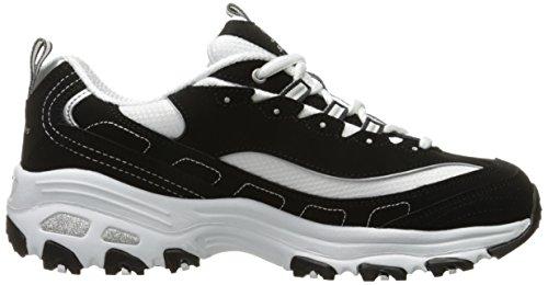 Skechers  D'LitesCentennial,  Sneaker donna Black/White