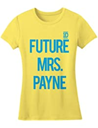 Official One Direction t-shirt Future Mrs. Payne