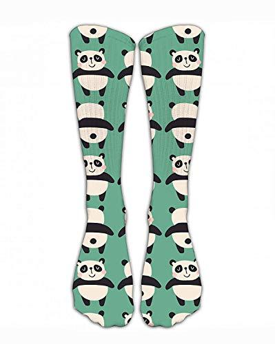 Bgejkos Crew Sock Funny Shy Panda Crew Athletic Socks Fashion Personalized Novelty Funny Stockings Men Women
