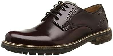 Pepe Jeans London Prime Low, Chaussures de ville homme - Rouge (298Bordeaux), 44 EU