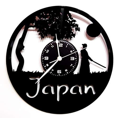 Instant Karma Vinyl-Plattenuhr, Wanduhr Vintage-Geschenk, Handgefertigt JAPAN