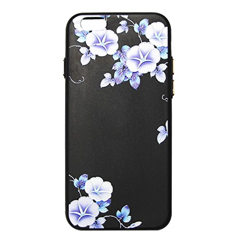 """Coque iPhone 6 Plus Silicone Housse, Rosa Schleife® 5.5"""" Apple iPhone 6S Plus TPU Silicone Gel Case Cover Ultra Mince Coque Etui de protection Back Cover 1-style"""