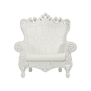 Design of Love Little Queen of Love Baby Armchair Milky White