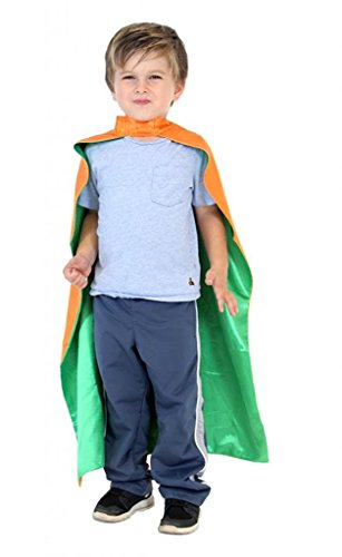 (Reversible Superhero Costume Capes (Child Orange/Green))