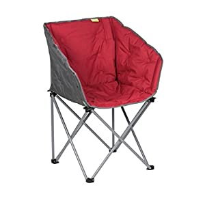 41rfRA%2B4O4L. SS300  - Kampa Tub Chair | Folding Camping Chair | RED