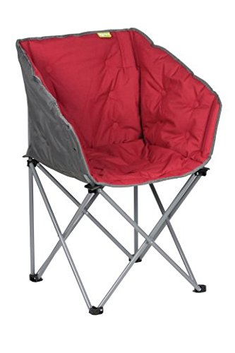 41rfRA%2B4O4L - Kampa Tub Chair | Folding Camping Chair | RED