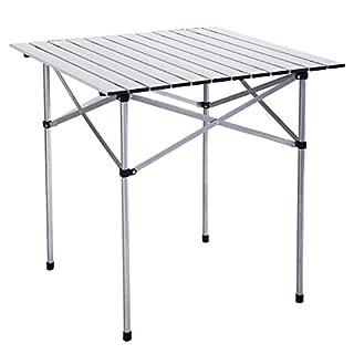 FDS Alu Camptisch Campingtisch faltbar Rolltisch Klapptisch Gartentisch (S)