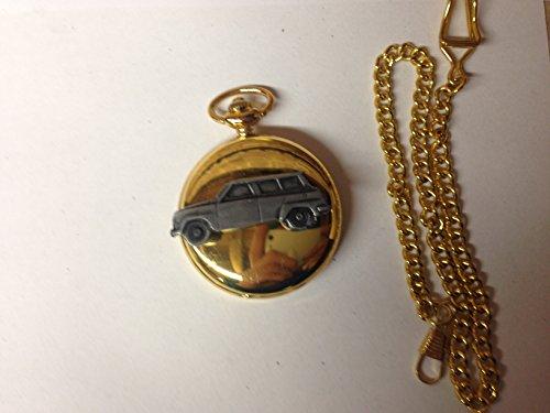 saab-95-ref215-pewter-effect-car-emblem-on-a-polished-gold-case-mens-gift-quartz-pocket-watch-fob-ma