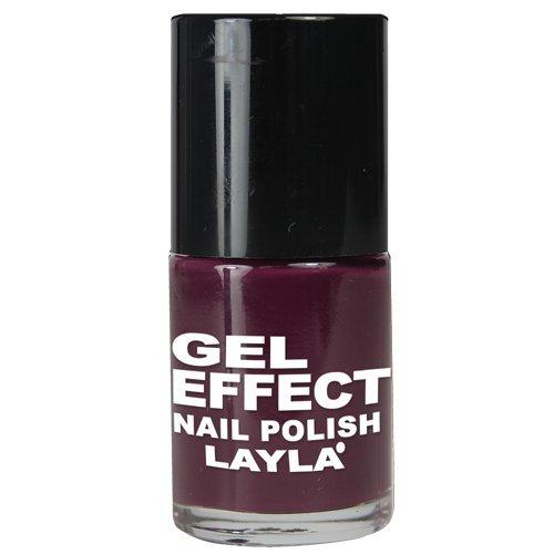 Layla Cosmetics 1256R23-12 Smalto, Gel Effetto, Tonalità 12 Smooth Purple