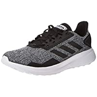 adidas Duramo 9 Men's Road Running Shoes, Black, 8.5 UK (42 2/3 EU)