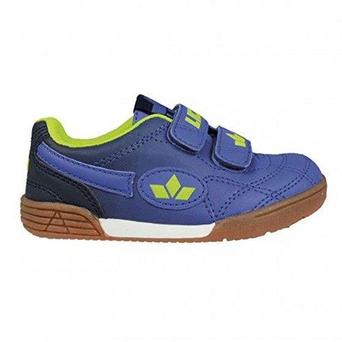 Lico Bernie V, Chaussures de Handball mixte enfant Bleu clair/bleu marine