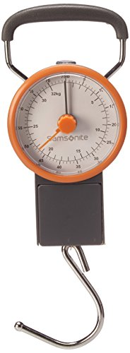 Samsonite Travel Accessories V Manual Luggage Scale Gepäckwaage, Grau/Orange