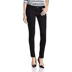 Jealous 21 Women's Skinny Jeans (JY2009_Black_26)