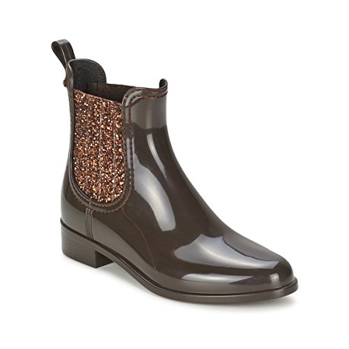 Lemon Jelly Womens Sardenha Brown Wellington Boots