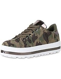 1e8553f7d72197 Suchergebnis auf Amazon.de für  plateau sneaker - Grün   Schuhe ...