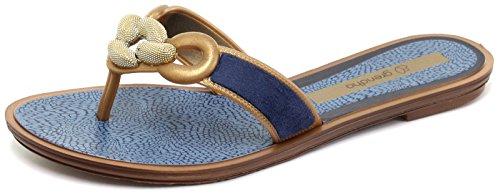 Grendha Brasil Exotic Thong Donna Infradito Blue