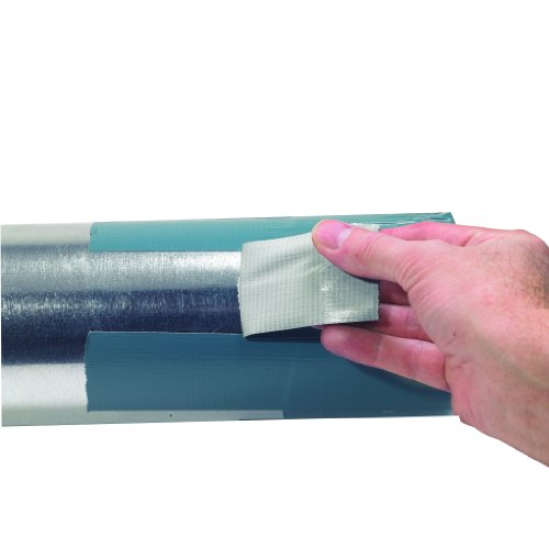 3M Deutschland 89795022 8979 UV-beständige Premium Gewebeband-lässt sich bis zu 6 Monate rückstandsfrei entfernen! blau-grau, 50 mm x 22.8