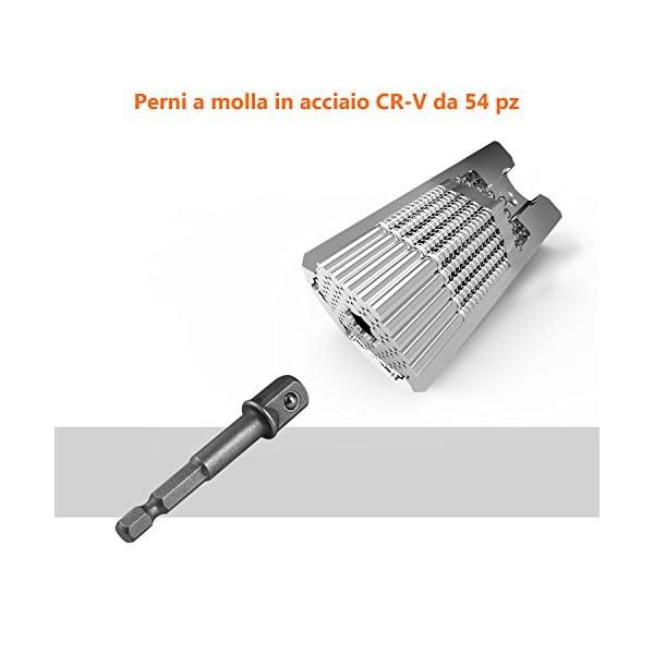Chiave-UniversaleTacklife-ASW01A-Tacklife-3Pcs-in-1-Multifunzione-7-19MM-ASW01A-Tumbler-Universale-conCertificato-di-Calibrazionee-Adattatore-per-Trapano-Elettrico-Riduttore-Scatola-Portabile