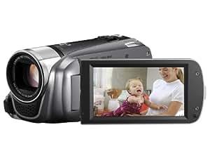 Canon HF-R26 Caméscope à mémoire Flash Port SD/SDHC Full HD 3,2 Mpix Zoom Optique 20x Mémoire interne 8 Go Argent