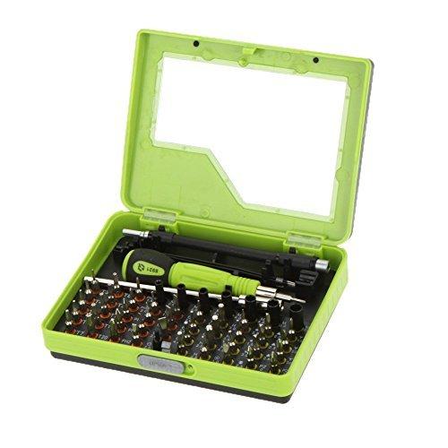 HUIJIAQI Guete NO.8921 53 in 1 Multifunktional Praezision Schraubenzieher Schraubendreher Set Handy PC Notebook TV Reparatur Hand Tool Kit