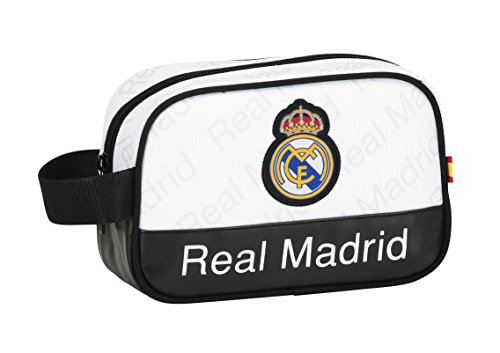 Safta Real Madrid Neceser, Color Blanco