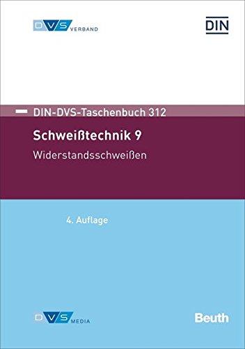 Schweißtechnik 9: Widerstandsschweißen (DIN-DVS-Taschenbuch) - V-anschlusskabel Ein