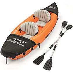 Bestway 65077-19 Hydro-Force Lite-Rapid X2 Kayak Kit Complet de Kayak Multicolore 81 x 88 x 42 cm