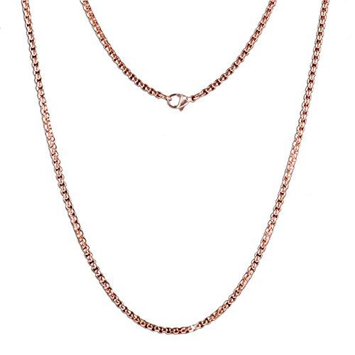 Meilanty-Damen-Halskette-80cm-Rosegold-Edelstahl-Ketten