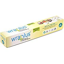 Wraplus Multipurpose Food Wrapping Paper (20M, Green and White) - Pack of 1