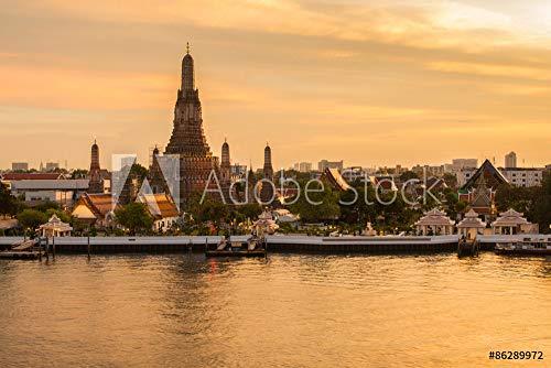 druck-shop24 Wunschmotiv: Wat Arun Buddhist Religious Places in Twilight time, Bangkok, Thailand #86289972 - Bild als Foto-Poster - 3:2-60 x 40 cm / 40 x 60 cm