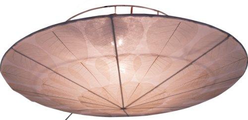 916487943700b Guru-Shop Deckenlampe Deckenleuchte Ninivee - in Bali Handgemacht aus  Naturmaterial