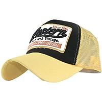 7b217ab02d32a Amlaiworld Gorras Gorra de beisbol verano bordada de malla sombreros para  hombres mujeres Sombreros casuales Gorras de